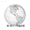 Outline Map of Jinotega