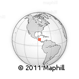 Outline Map of Madriz