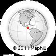 Outline Map of Lag. Asososca