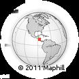 Outline Map of Lag. Jiloa