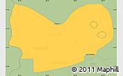 Savanna Style Simple Map of Mateare