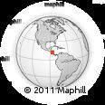 Outline Map of Tipitapa