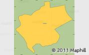 Savanna Style Simple Map of Villa Carlos Fonseca A, cropped outside