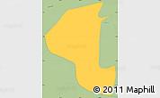 Savanna Style Simple Map of Masatepe