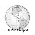 Outline Map of Matagalpa