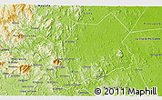 Physical 3D Map of Rio Blanco