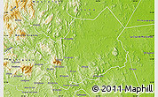 Physical Map of Rio Blanco