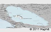 Gray Panoramic Map of Nicaragua