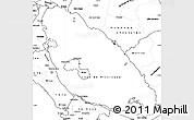 Blank Simple Map of Nicaragua