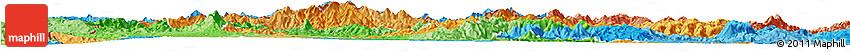 Political Shades Horizon Map of Nueva Segovia