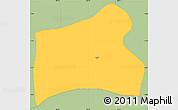 Savanna Style Simple Map of Ocotal