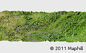 Satellite Panoramic Map of Nueva Segovia