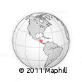 Outline Map of Quilali