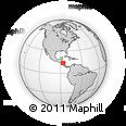 Outline Map of Santa Maria
