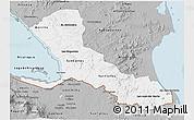 Gray 3D Map of Rio San Juan