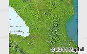 Satellite Map of Rio San Juan