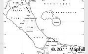 Blank Simple Map of Rivas