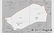 Gray 3D Map of Agadez