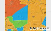 Political Map of Agadez