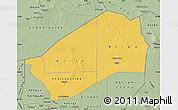 Savanna Style Map of Agadez