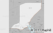 Gray 3D Map of Diffa