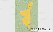 Savanna Style Map of Boboye