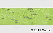 Physical Panoramic Map of Kollo