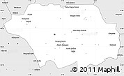 Silver Style Simple Map of Kollo
