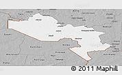 Gray Panoramic Map of Say