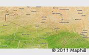 Satellite Panoramic Map of Say