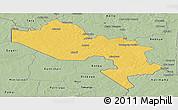 Savanna Style Panoramic Map of Say