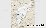 Classic Style 3D Map of Adamwara