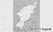 Gray 3D Map of Adamwara