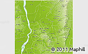 Physical 3D Map of Anambra