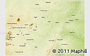 Physical 3D Map of Bauchi