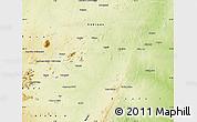 Physical Map of Bauchi