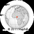 Outline Map of Bauchi