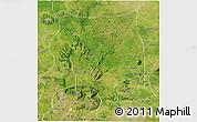Satellite 3D Map of Toro