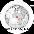 Outline Map of Toro