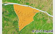 Political Map of Apa, satellite outside