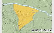 Savanna Style Map of Apa