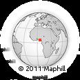 Outline Map of Sapele