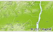 Physical 3D Map of EtsakoWe