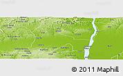Physical Panoramic Map of EtsakoWe