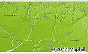 Physical 3D Map of Oredo Edo