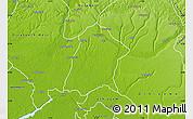 Physical Map of Oredo Edo