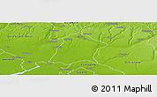 Physical Panoramic Map of Oredo Edo