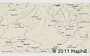 Shaded Relief Panoramic Map of Orhionmw