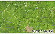 Satellite 3D Map of OviaNort