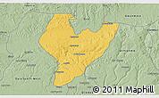 Savanna Style 3D Map of OviaNort